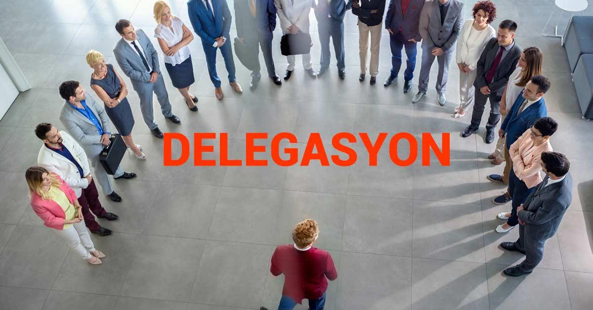 Delegasyon Eğitimi